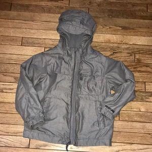 GAP Kids Gray Hooded Winter Jacket